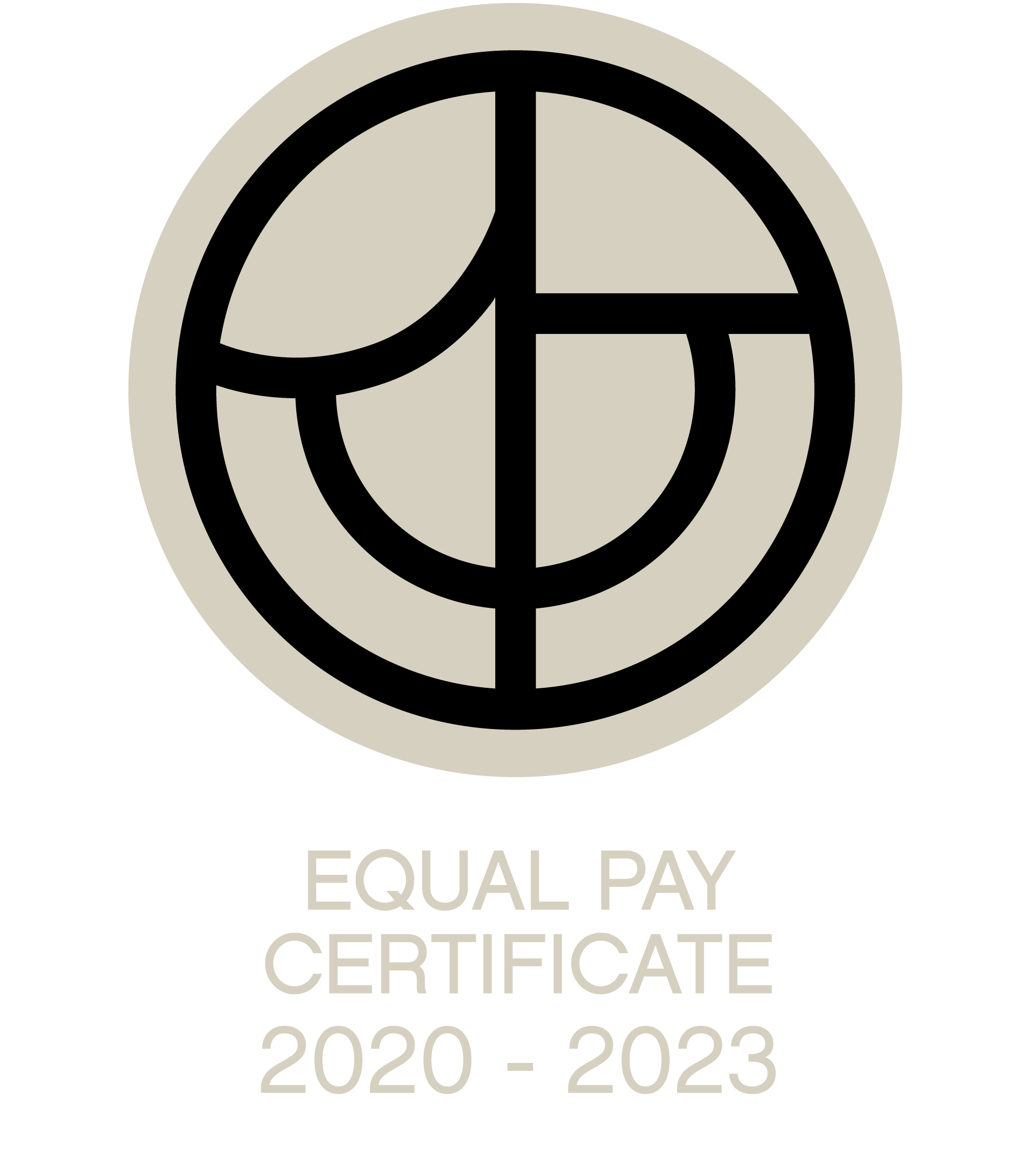 Equal pay 2020-2023 mark